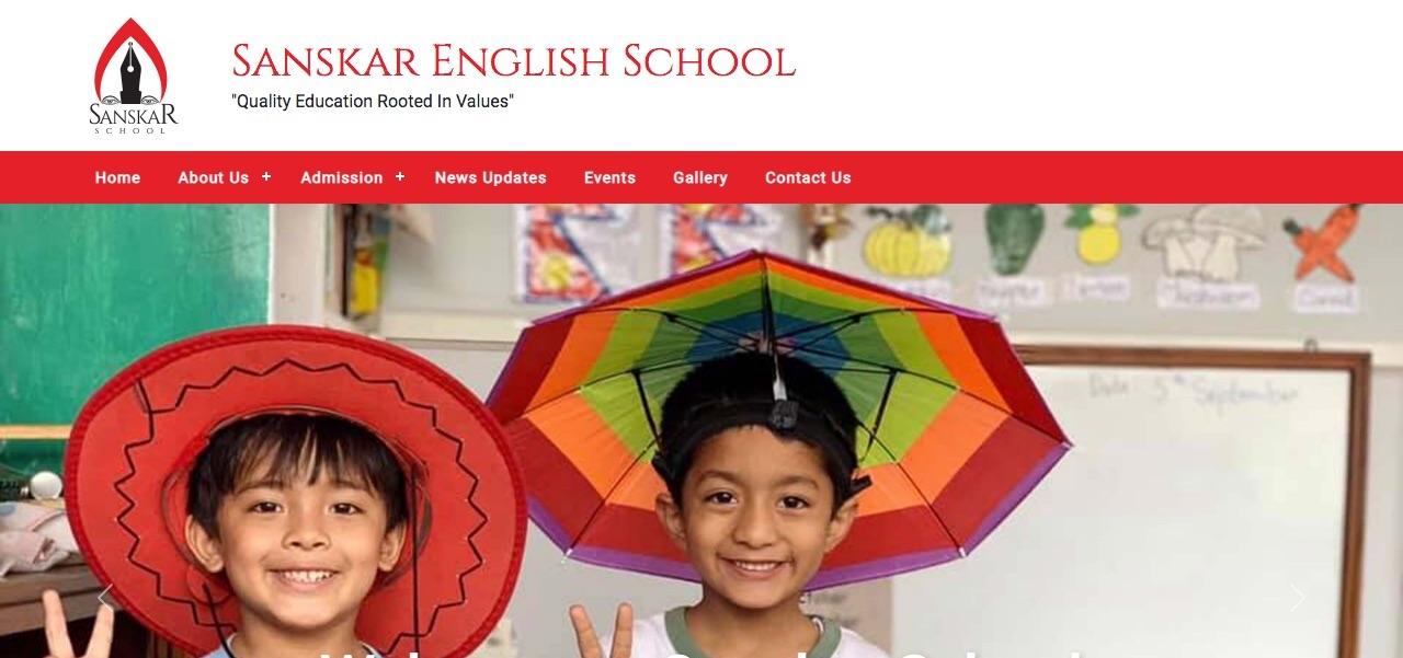 Sanskar School Website Launched